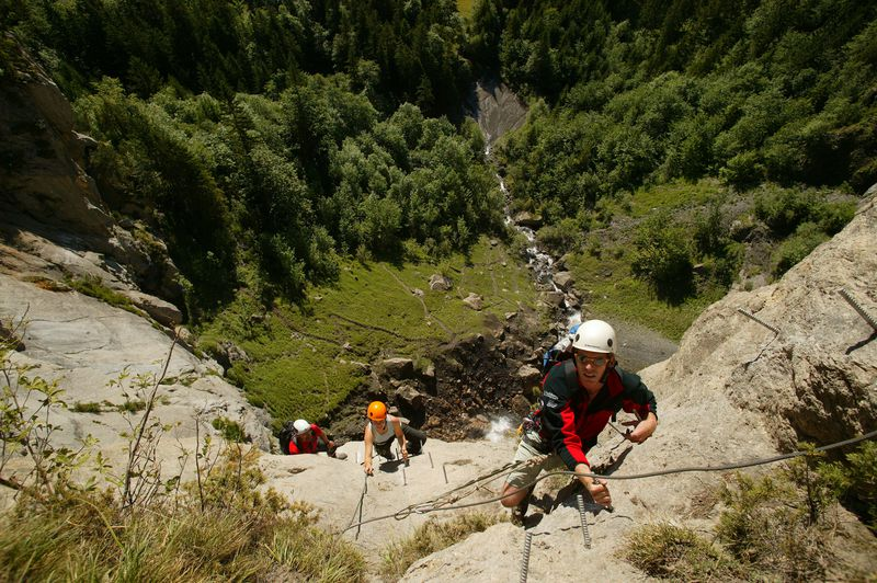 Klettersteig Allmenalp : Klettersteig kandersteg allmenalp luftseilbahn