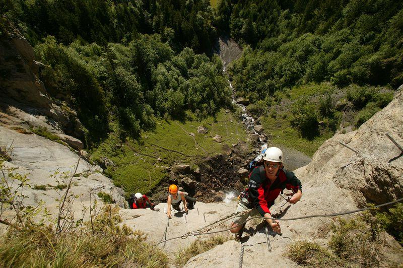 Klettersteig Engstligenalp : Klettersteige kaiser max klettersteig km bergwelten