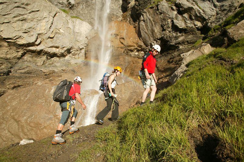 Klettersteig Engstligenalp : Klettersteig kandersteg allmenalp luftseilbahn