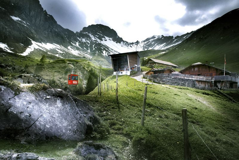 Klettersteig Adelboden : Klettersteig naturpark gantrisch