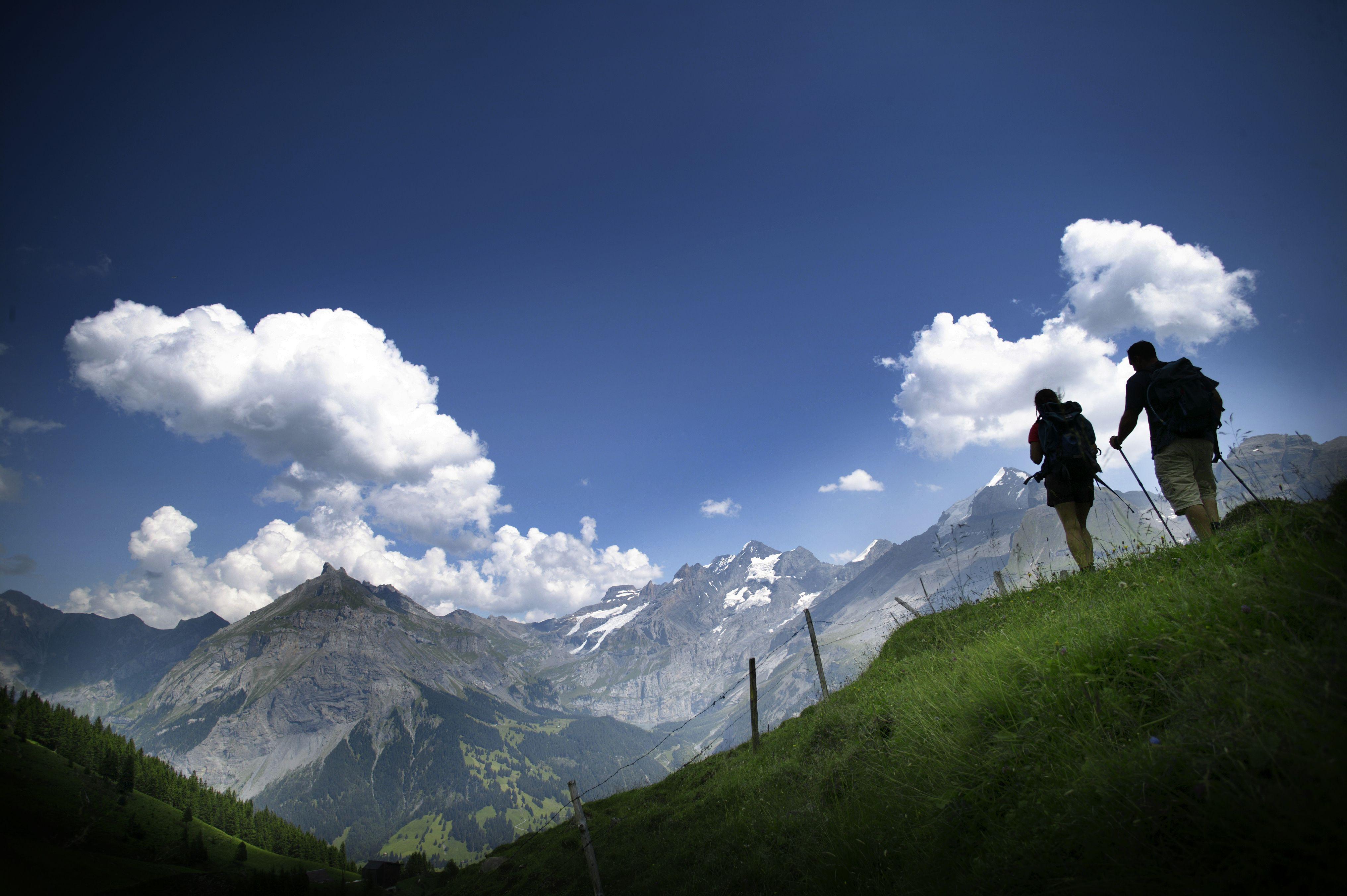 Klettersteig Allmenalp : Willkommen bei der luftseilbahn kandersteg allmenalp